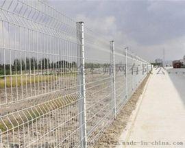 金栏浸塑桃型柱护栏三角折弯围网公园围栏厂区隔离网
