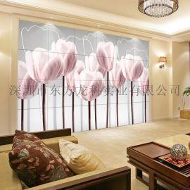 装饰建材集成墙面印刷瓷砖背景墙uv平板打印机
