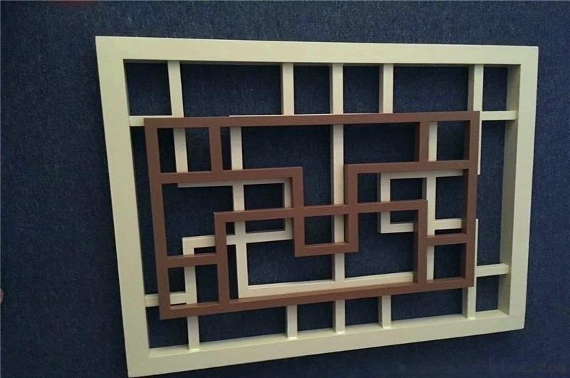 鋁合金方管拼接鋁窗花 防盜隔斷鋁門窗