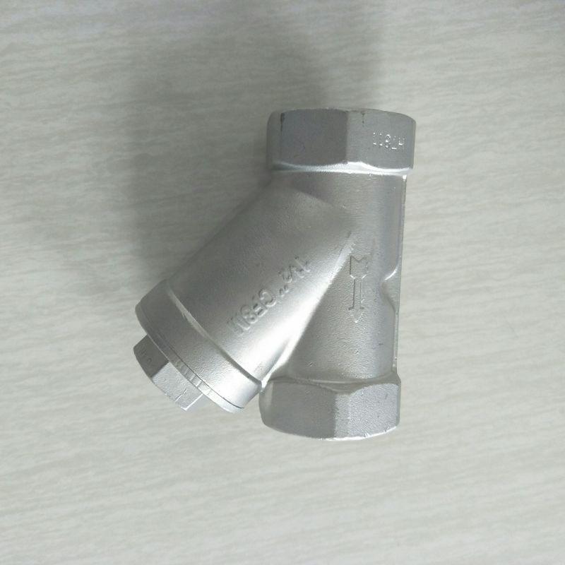 坤泰不锈钢Y型过滤器 内螺纹过滤器
