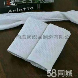 厂家直销 一次性毛巾 纯棉方巾 宾馆酒店毛巾浴巾