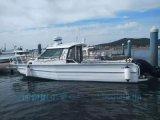 9.738米铝合金浮筒船海钓休闲游艇钓鱼游艇