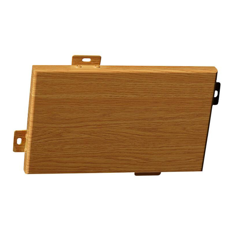 仿木纹铝单板