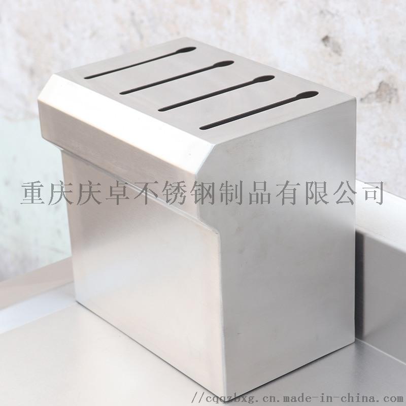 重庆现场制作加工201/304不锈钢工作台