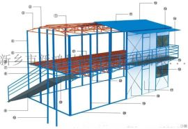 河南地区优质活动板房二手彩钢房收售