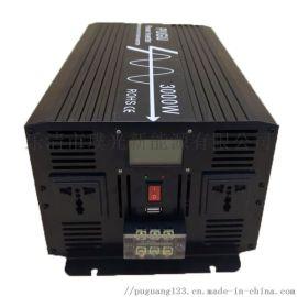 太阳能逆变器3000W纯正弦波逆变器 车载家用逆变器电源