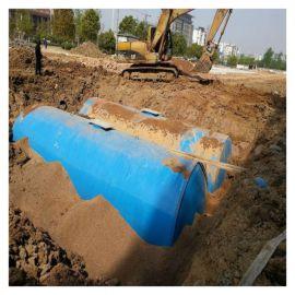 新款农村6.5玻璃钢化粪池重量轻