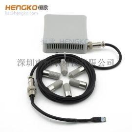 30-45微米温室度传感器不锈钢烧结外壳厂家定制
