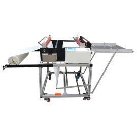 小型离型纸裁切机无纺布裁断机纤维布自动剪切机