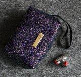 亮片手包 跨境热卖珠片变色方形化妆包