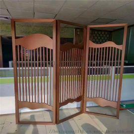 玄关屏风加工不锈钢古铜屏风定制销售