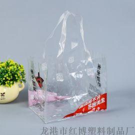 定制pvd手提礼品袋超市广告促销酒水饮料手拎袋