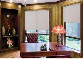 广州窗帘安装,办公室卷帘窗帘订购