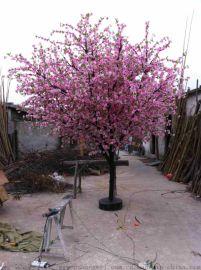 永川假桃树生产 荣昌新年桃树 铜梁合川假桃花生产 重庆万州假树生产 石柱仿真桃树