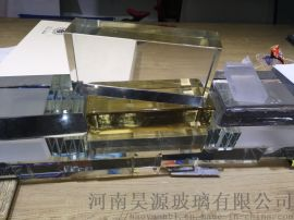 郑州昊源实心水晶玻璃砖