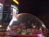 透明鲸鱼岛出租出售粉色鲸鱼岛海洋球配置