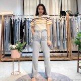 布歌玛2020年春季宽松时尚休闲女裤 品牌折扣女装