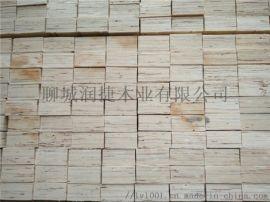 全杨木免熏蒸LVL木方胶合板出口包装用