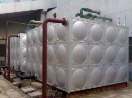 组合式水箱 玻璃钢大容量水箱 不锈钢水箱规格