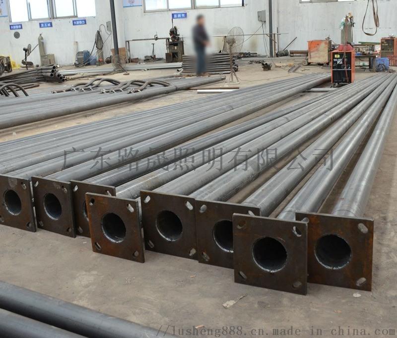 燈杆廠家生產6米路燈杆 路晟定製熱鍍鋅12米雙臂路燈杆 10m路燈杆