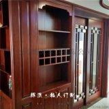 長沙全房原木傢俱原木櫥櫃、原木餐邊櫃定做廠家直銷