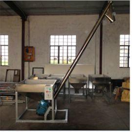 厂家批发零售螺杆提升机颗粒粉末螺旋输送机不锈钢全自动上料机