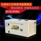 大澤動力TO18000ETX 柴油15kw車載靜音發電機