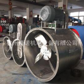 订做KT40-9型3KW不锈钢防腐耐酸碱电机外置式管道轴流风机