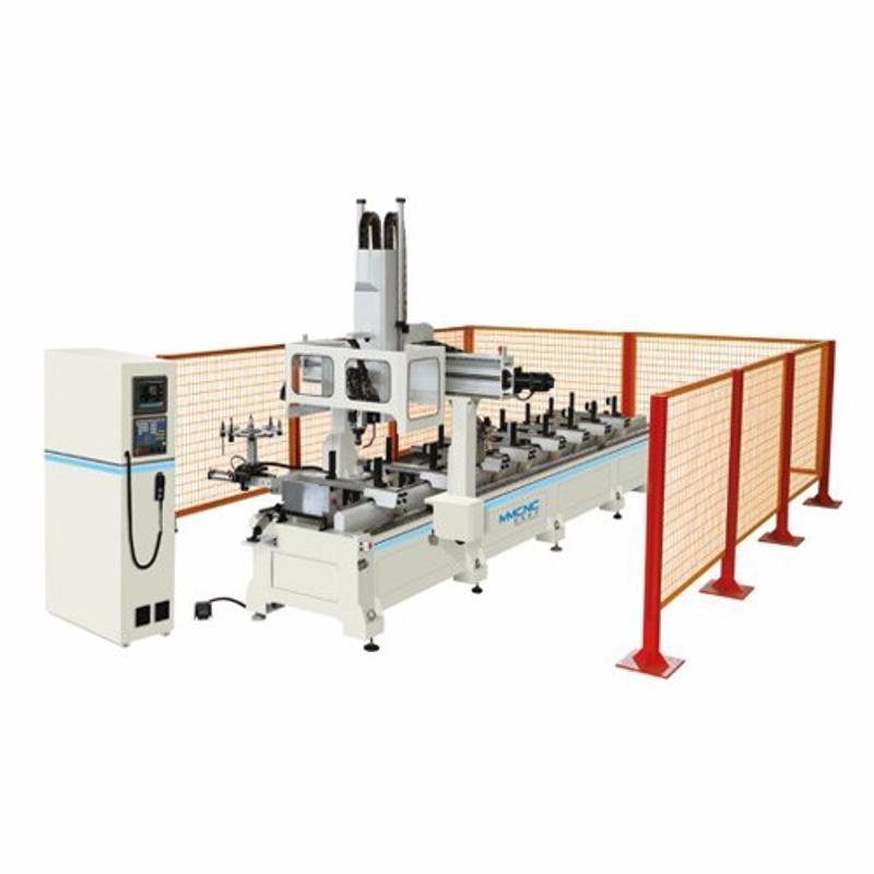 明美JGZX4-CNC-6000鋁型材數控加工中心 四軸數控加工中心 鋁工業型材數控加工中心