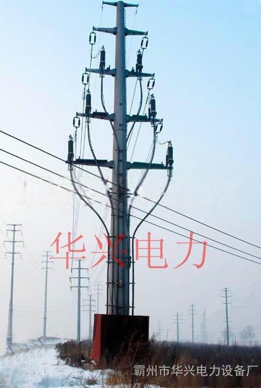 甘肅張掖10KV電力鋼杆、鋼樁基礎及電力杆打樁車改造