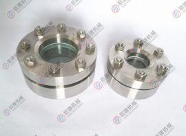 DN50高压视镜-带灯 压力容器视镜、法兰视镜