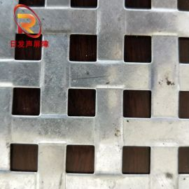 厂家加工金属过滤网冲孔网方孔网声屏障过滤网片式围挡金属板