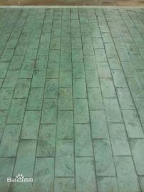 山西压模地坪,太原彩色压花地坪,2017572压模地坪路面桓石阳泉压模材料