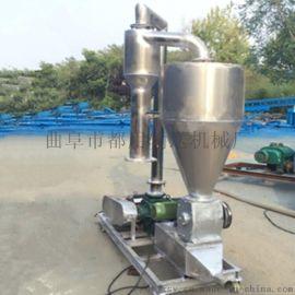 多功能玉米高粱吸粮机 移动式柴油机动力输送机qc
