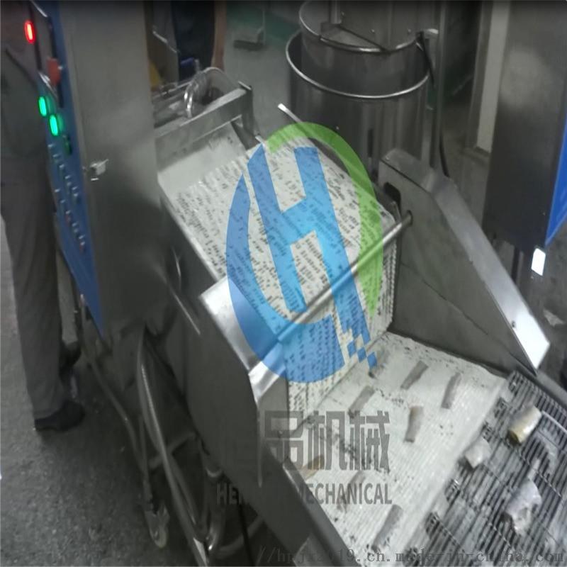 小型商用带鱼上浆机器 仿人工带鱼裹糠机