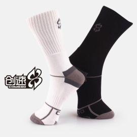 **创速专业篮球袜 毛圈袜 运动袜 纯棉加厚男袜