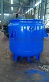 一诺Q245R材质K1000L搪玻璃反应釜