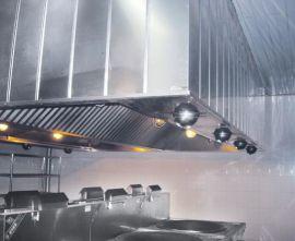 节能豪华型运水排烟罩 防撞击流排风制作安装