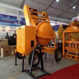建筑JF300-2 提升柴油混凝土搅拌机
