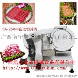 广西自动切肉机 广西切羊肉卷机器 切牛肉卷的机器