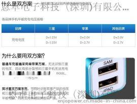 高品质过CE认证5V1A2.1A3.1A 5A 单USB双USB三USB车充车载充电器