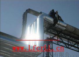 铁皮保温工程,高空管道铁皮保温施工
