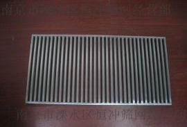 南京供应304、316不锈钢水槽冲孔盖板  椭圆型冲孔网板