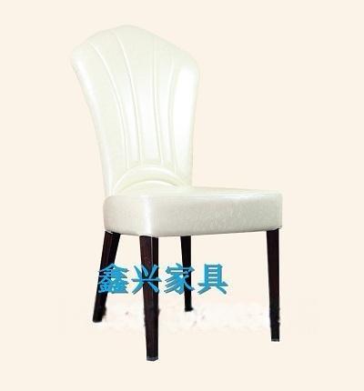 鑫兴新古典欧式实木铁艺餐椅软包靠背椅沙发椅休闲椅洽谈椅子酒店椅桌座椅