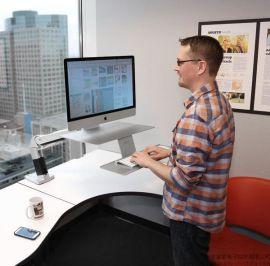 爱格升ergotron苹果imac电脑支架升降站坐两用台式支架24-414-227