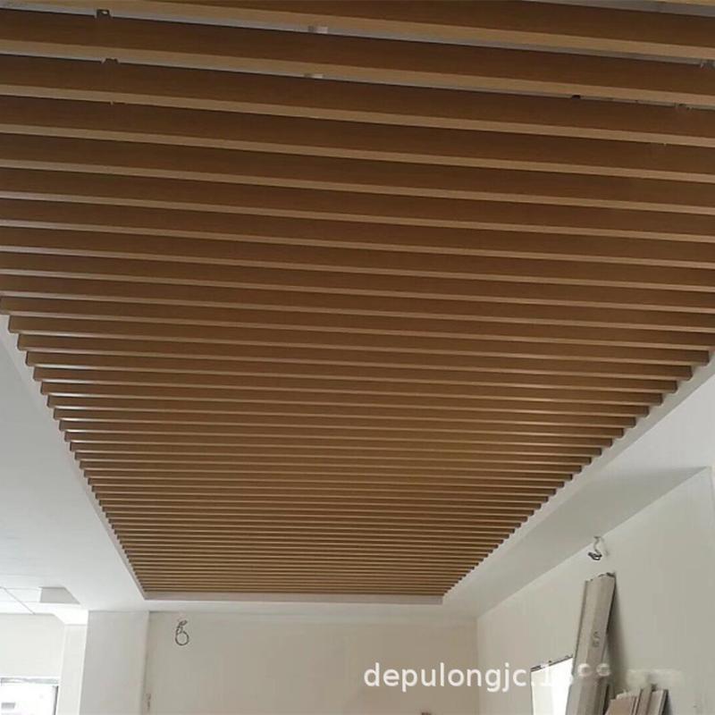 鋁合金方通吊頂  鋁方管幕牆 鋁合金造型格柵廠家定製
