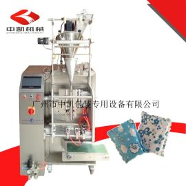 厂家供应全自动新型活性炭、竹炭双层袋压花边包装机