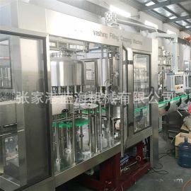 全自动液体灌装机 小型葡萄糖灌装设备 矿泉水包装机