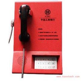 自动银行IP网络电话机,提机自动拨号银行电话