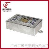 专业印刷定制高档镭射纸烫银激凸抽屉式精装保健品包装礼盒